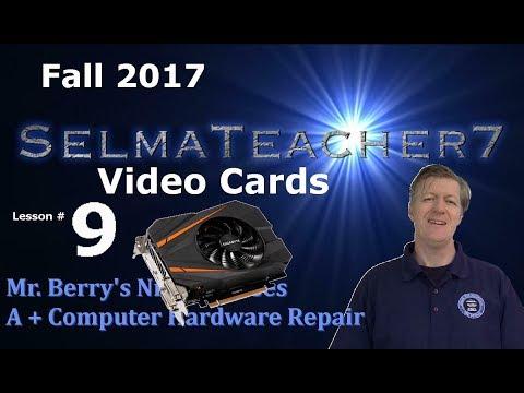 Video Cards! - Lesson 9 Network Control Operator Class