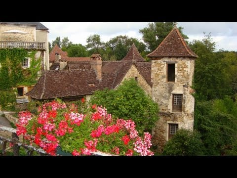 FOOTLOOSE IN ROCAMADOUR DVD - travel video and walking guide - France