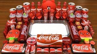 series-red-coca-cola-slime-mixing-random-things-into-glossy-slime-satisfying-slime-videos-635