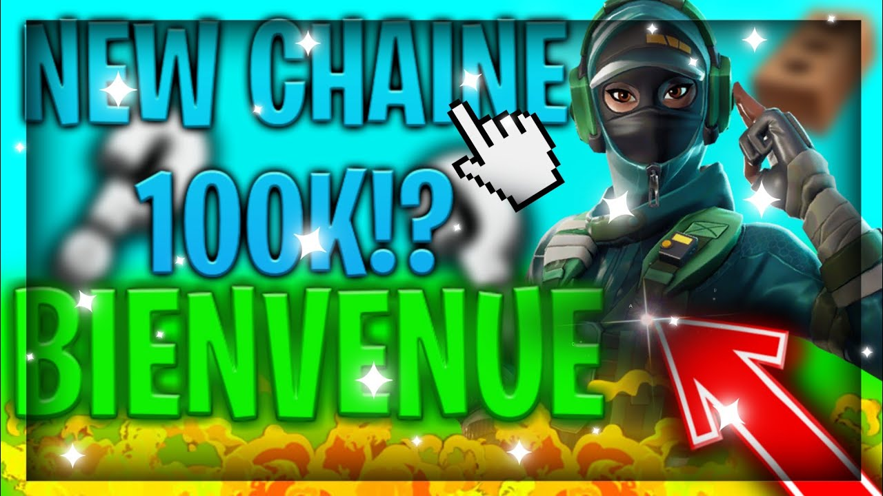 Presentation De Ma Nouvelle Chaine Youtube Fortnite En Video Youtube