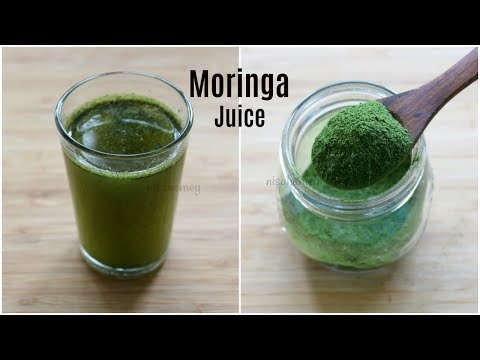 Moringa Juice For Weight Loss & Pcos - Homemade Moringa Powd