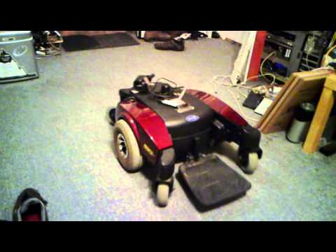 Hacking an Invacare Pronto Electric Wheelchair - Part 6 - YouTube
