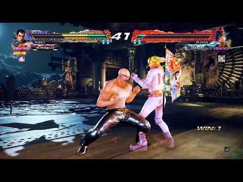 Tekken7 Season3 펭(feng) 랭크 의자단으로 떨어진 나 2019/10/08 (소리없음)