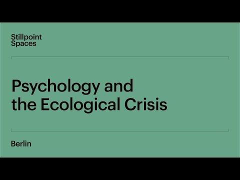 Psychology and the Ecological Crisis