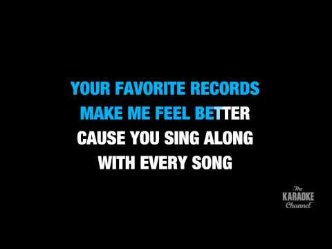 "Over You in the Style of ""Miranda Lambert"" karaoke video with lyrics (no lead vocal)"