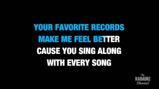 over you in the style of miranda lambert karaoke video with lyrics no lead vocal