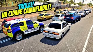TROLEI OS PROCURADOS NA CIDADE CAMUFLADA! - FORZA HORIZON 3