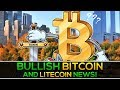 BULLISH Litecoin & Bitcoin News + Crypto Bounce Saves The Day!!!