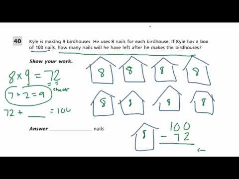 Word problem 2 grade 4 common core standards youtube