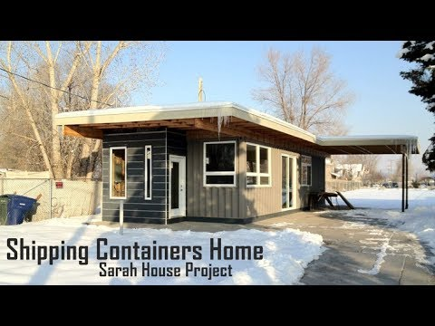 Utah's Sarah House Project from Shipping Containers