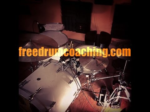 How should I set up my Snare Drum and Drum Throne ~ FreeDrumCoaching.com #1