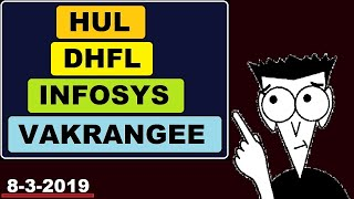 (Hul) (Vakrangee) (Infosys) (DHFL) news and update in Hindi by SMkC
