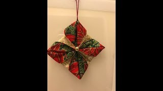 Crafting With April -Fabric ornament Tutorial #1 of 12