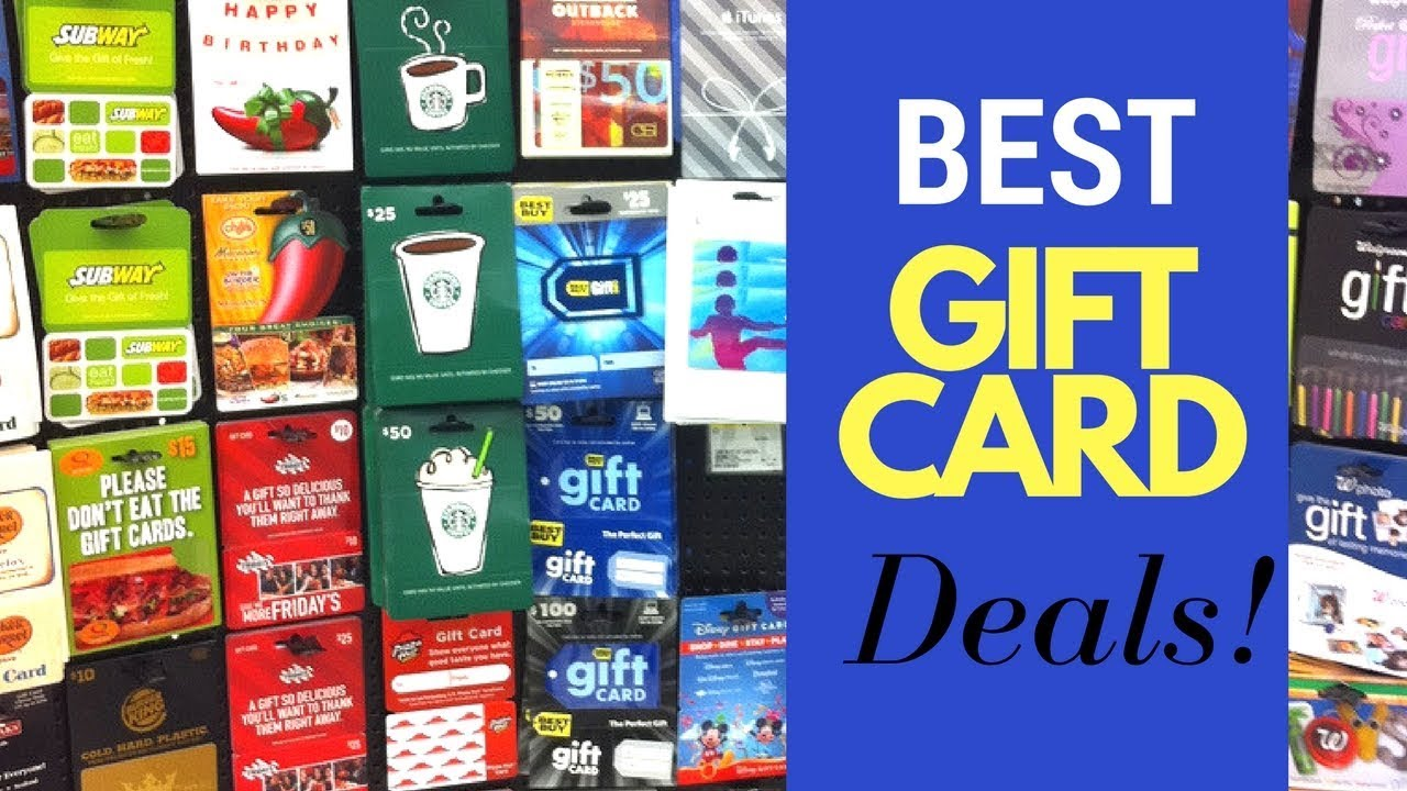 how to save money christmas shopping best deals on gift cards 2017 cleancutcouponing - Christmas Gift Card Deals