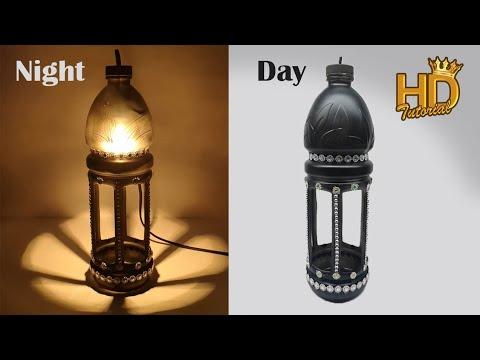 Diy Mengubah Botol Bekas Menjadi Tempat Lampu Hias Yang Sangat