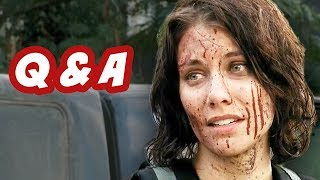 The Walking Dead Season 4 Q&A - Gareth and The Sanctuary Edition