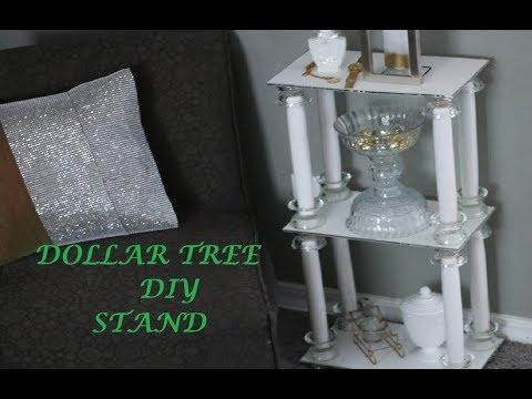 DIY!!!!  Glam Stand Unit Dollar Tree