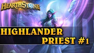 HIGHLANDER PRIEST #1 - Hearthstone Decks std