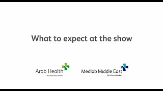 What to expect from Arab Health and Medlab 2021