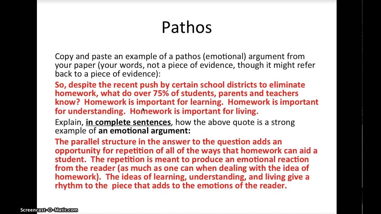 ethos  pathos  and logos in a research paper