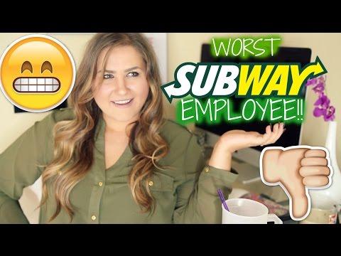 RANT! The WORST Subway Employee I've Ever Experienced!