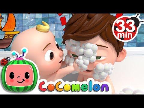 Bath Song | +More Nursery Rhymes & Kids Songs - ABCkidTV