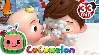 vuclip Bath Song | +More Nursery Rhymes & Kids Songs - CoCoMelon
