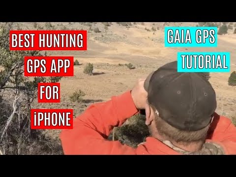What Is The Best Hunting GPS App For IPhone? | Gaia GPS Tutorial