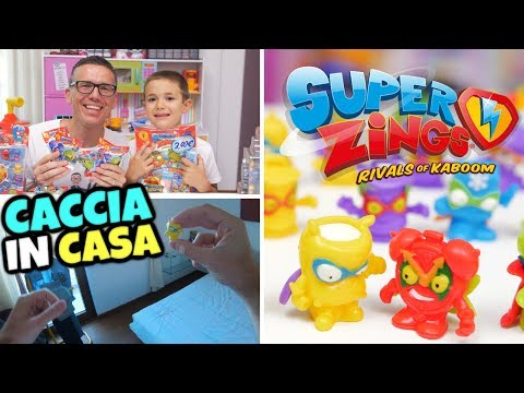 CACCIA AI SUPER ZINGS ⚡ IN CASA: Apriamoli e Cerchiamoli