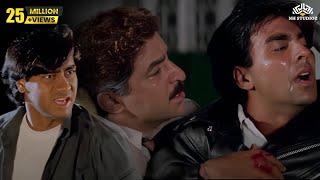 Akshay Kumar & Ajay Devgan Take Revenge From Rai Bahadur || Fight Scene From Movie Suhaag