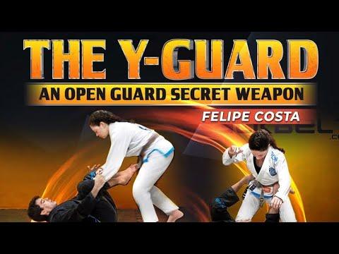 The Y-Guard by Felipe Costa - An open guard secret weapon - BJJ JiuJitsu instructional BJJFANATICS