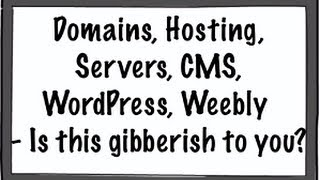 Domains, Hosting, Servers, CMS, WordPress, Weebly - Is this gibberish to you?(http://anamelikian.com/?p=5112 When you are considering creating a website you can find yourself submerged into new terms that are really gibberish to most ..., 2013-08-23T11:59:39.000Z)
