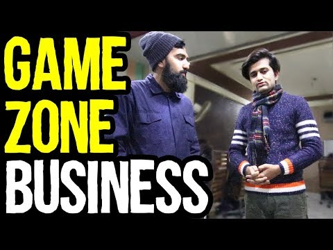 Game Zone Business in Pakistan & india | Azad Chaiwala Show