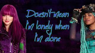 Stronger Lyrics ~ Dove Cameron and China Anne McClain ~ From Descendants Under the Sea