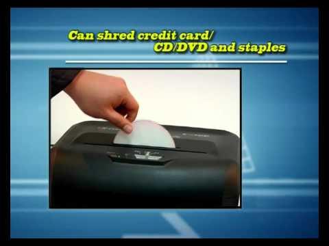 Comet C-100 Paper Shredder Operation Demo