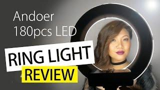 Andoer LED Ring Light review