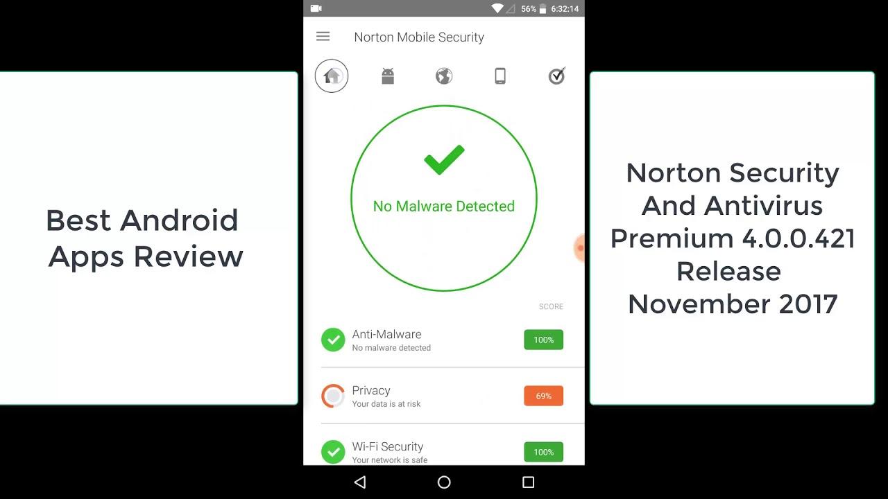 Norton security and antivirus premium android | Download