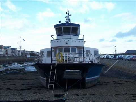 Passenger Ferry HERM TRIDENT V - Out Of The Water