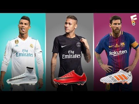 24 Best Footballers In Ther World 2017 and Their Boots ⚽ FIFA Version ⚽ Footchampion