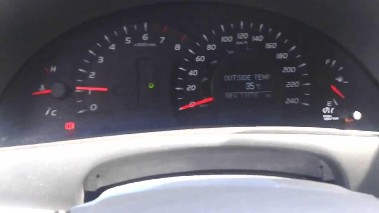 2007 Toyota Camry Se >> Falla en Camry 2007 XLS indicadores inestables y enciende ...