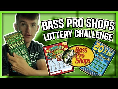 BASS PRO SHOPS LOTTERY TICKET CHALLENGE! #1