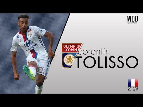 Corentin Tolisso | Lyon | Goals, Skills, Assists | 2016/17 - HD