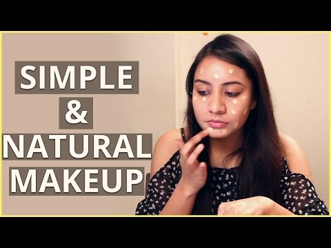 Simple NATURAL MAKEUP Tutorial For Beginners