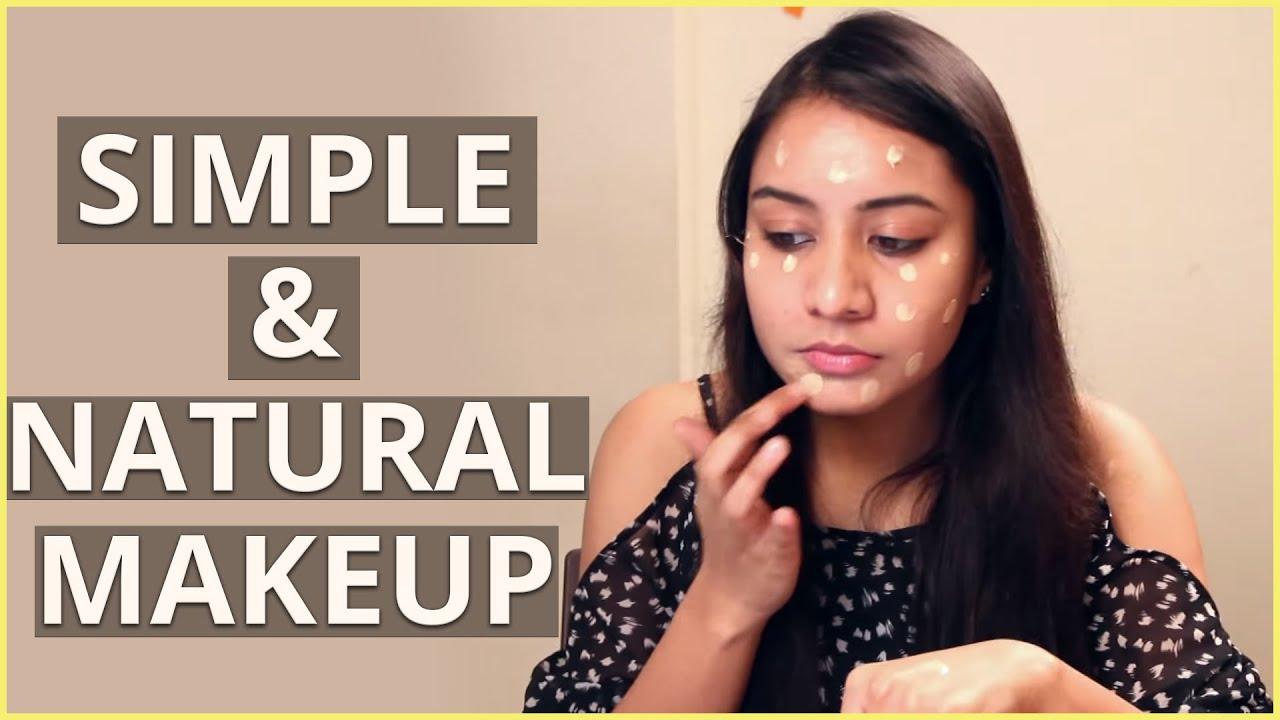 Diy simple natural makeup tutorial for beginners youtube diy simple natural makeup tutorial for beginners baditri Choice Image