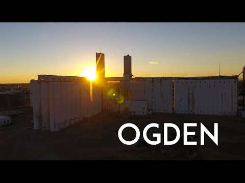 Ogden, UTAH in 4K - An aerial tour of the city and its landmarks (of which there aren't many)