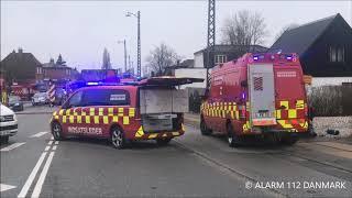18.03.2019 - Ild i autoværksted - Husum
