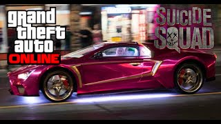 GTA 5 | Suicide Squad The Jokers Car Build!!
