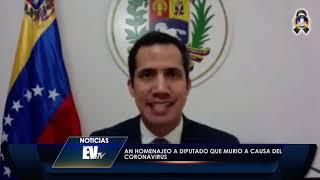 AN homenajeó a Dip. Hernán Alemán, víctima del Covid-19 - Noticias EVTV 07/09/2020