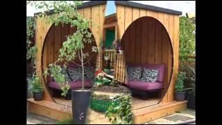 Беседка в нашем саду(Планируя территорию вокруг дома, обязательно позаботьтесь о зоне отдыха. Присмотритесь где лучше поставит..., 2015-01-21T12:45:04.000Z)