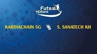 Trực Tiếp   Kardiachain Sài Gòn FC vs S.Sanatech KH   VCK VĐQG FUTSAL HD BANK 2019